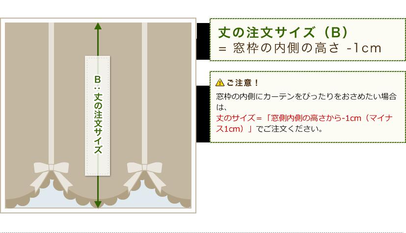 丈の注文サイズ(B)